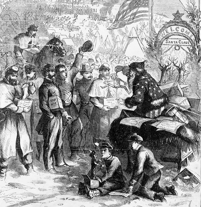 Harper's Weekly-ისთვის შექმნილი ილუსტრაცია, 1863 წ.
